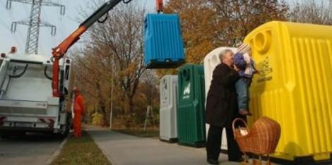 Szelektív hulladékgyüjtés Budapeste