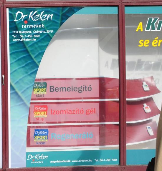Dr. Kelen márkakirakat