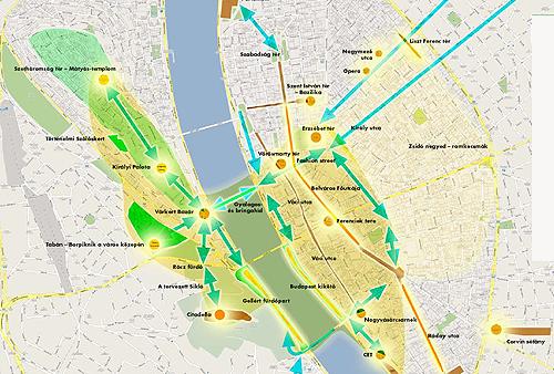 A SzeBu városfejlesztési térképe