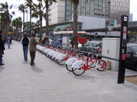 Barcelona: Bicing