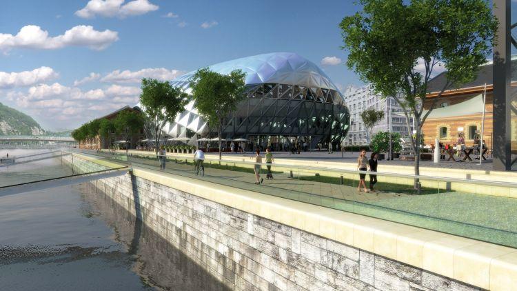 A Duna közelsége miatt Budapest új landmark épülete lehet