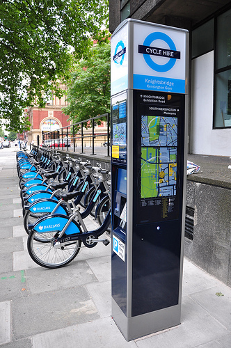 London: Barclays Cycle Hire