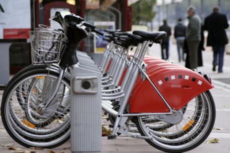 Lyon: Vélo'v