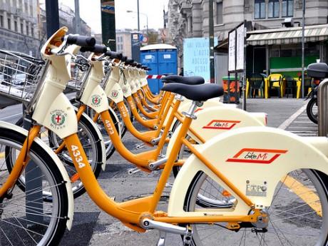 Milánó: BikeMi