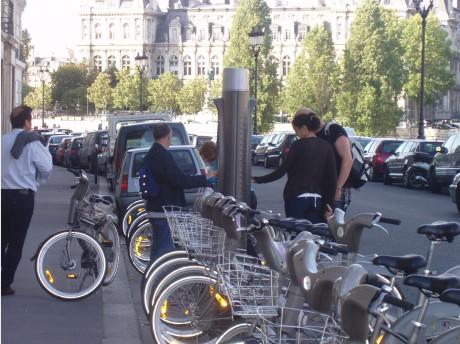 Párizs - A Vélib' rendszer