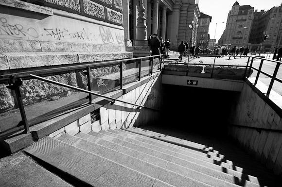 A Keleti pályaudvar elhanyagolt környéke