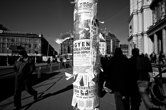 Kosz van a Baross téren és máshol is
