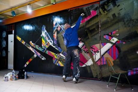 Színes graffitik mindenhol
