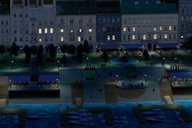 A Belgrád rakpart kedvelt meeting point is lehetne