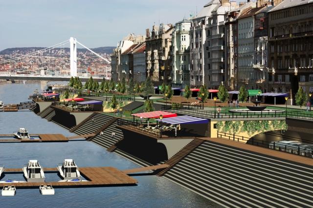 A Belgrád rakpart látványterve - Végre összeérhetne a Duna és a város