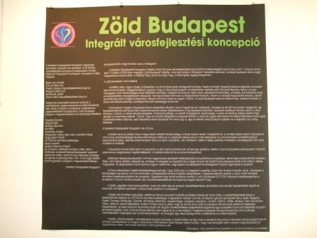"""""""Zöld Budapest"""" integrált városfejlesztési koncepció"""