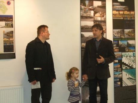 Zöld Budapest kiállítás: Térey János és Bojár Iván András nyitó szavaival