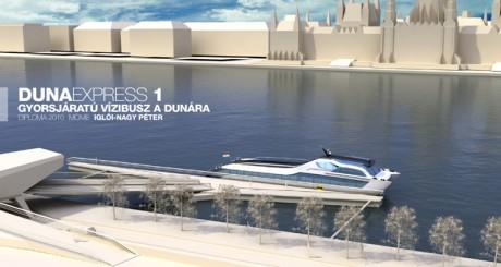 A Duna Express katamarán