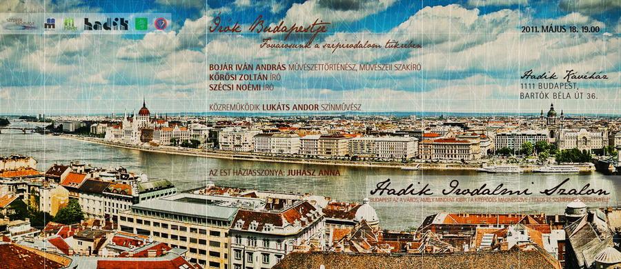 Irók Budapestje - Fővárosunk az irodalom tükrében