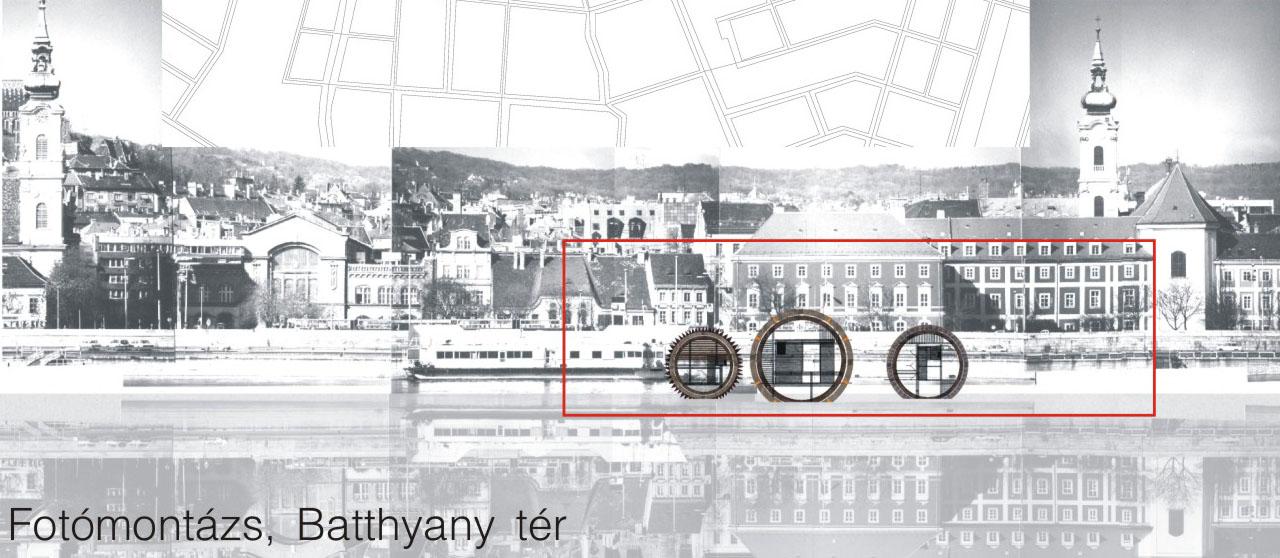 Hajómalom a Batthyányi térnél